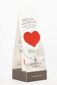 Packaging cuore di cocco
